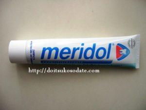 ドイツの歯磨き粉