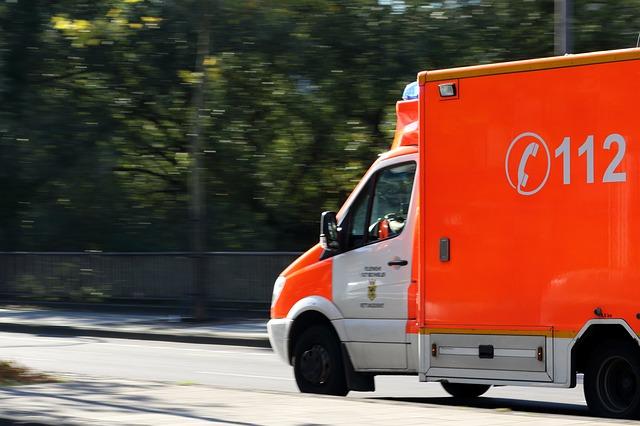 ドイツの救急車