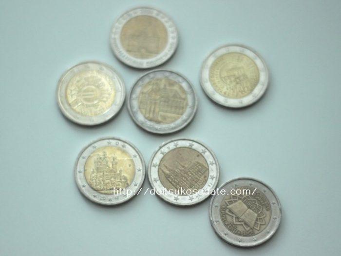 EU各国の2ユーロ記念硬貨