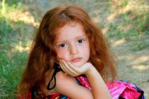 赤毛という髪の毛の色