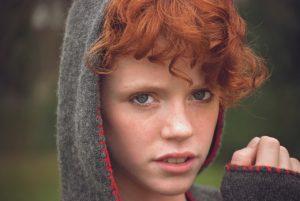 赤毛という髪の色