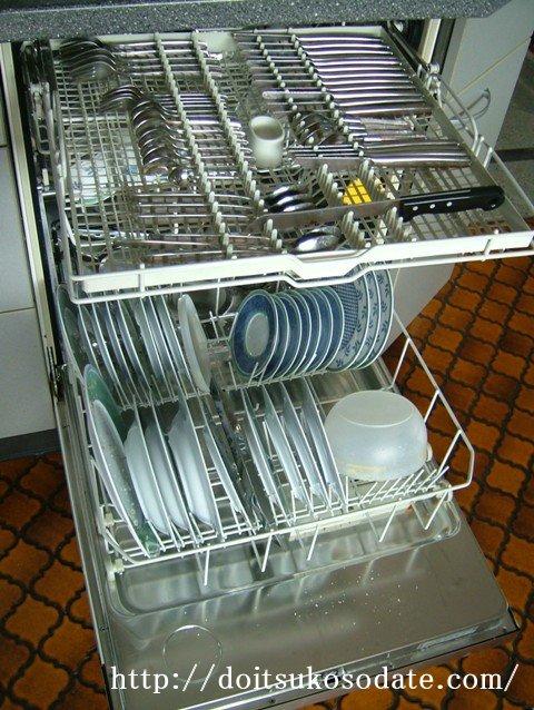 家庭用食器洗い機