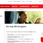 ドイチェ・バーンの便利アプリDB Navigatorの使い方